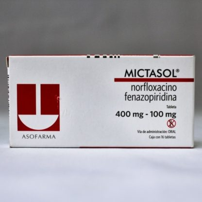 MICTASOL 400/100MG CPR C/16