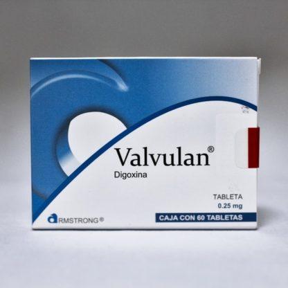 VALVULAN 0.25MG.C/60 TABS.