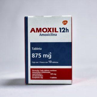 AMOXIL 12H 875MG TAB C/10