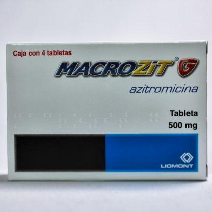 MACROZIT G 500MG TAB C/4