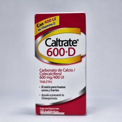 CALTRATE 600 D T 30 400UI