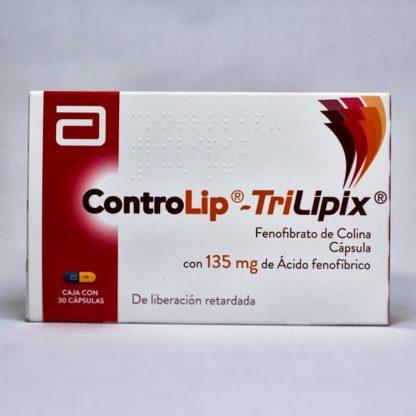 CONTROLIP TRILIPIX 135MG CAP C/30