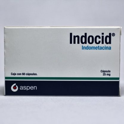 INDOCID 25MG CAP C/60