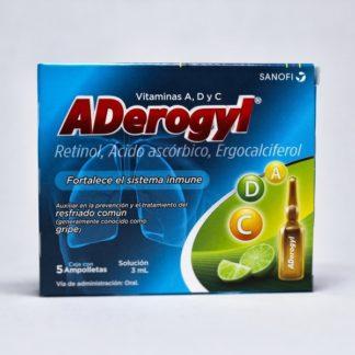 ADEROGYL 15 SOL ING AMP C/5