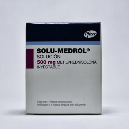 SOLU-MEDROL 500 MG FA 8 ML