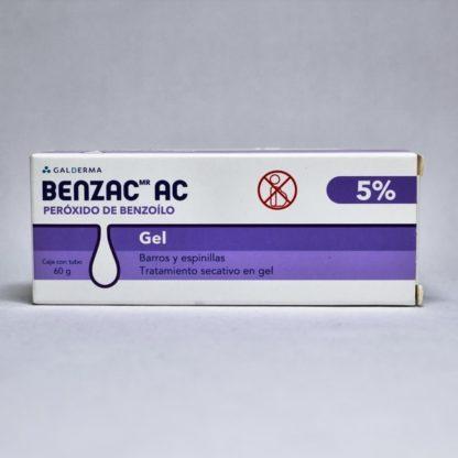BENZAC-A-C GEL 5 TB 60GR