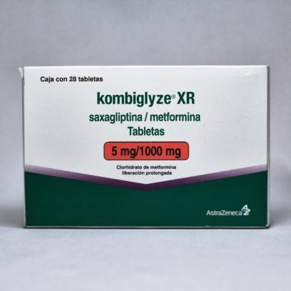 KOMBIGLYZE XR 5/1000MG TAB C/28