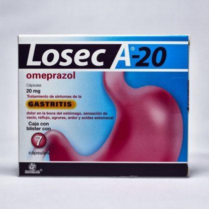 LOSEC A-20 20MG CAP C/7