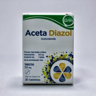ACETA DIAZOL 250MG C/30 TAB