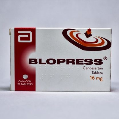 BLOPRESS 16MG TAB C/28