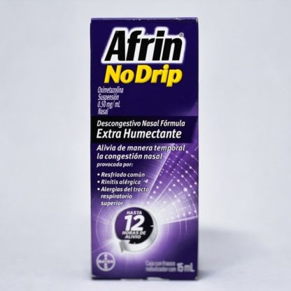 AFRIN NO-DRIP EXTRA HUMECTANTE 15ML