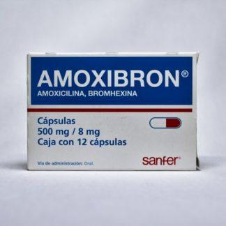 AMOXIBRON 500MG CAP C/12