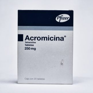 ACROMICINA 250MG TAB C/20