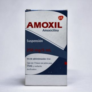 AMOXIL PED 250MG SUSP 75ML