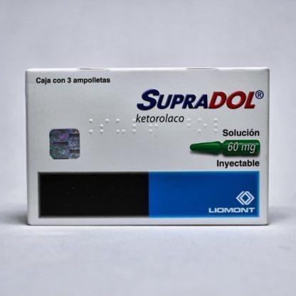 SUPRADOL SOL INY 60MG C/3