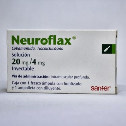 NEUROFLAX 20MG FA 4ML