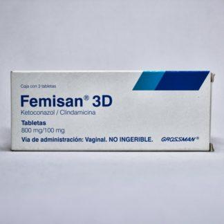 FEMISAN-3D 800/100MG VAG TAB 3