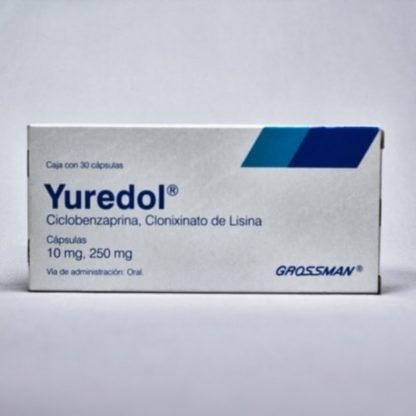 YUREDOL 1OMG/250MG CAP C/30