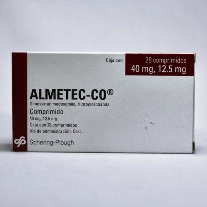 ALMETEC-CO 40/12.5MG CPR C/28