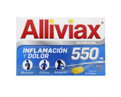 ALLIVIAX 550MG TAB C/10