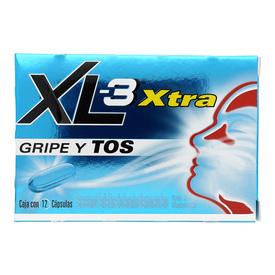 XL-3 XTRA CAP C/12 GRIPA/TOS