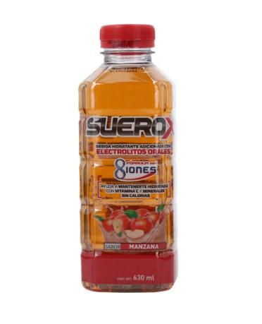 SUEROX 630ML MANZANA