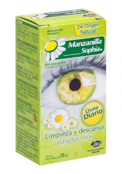 MANZANILLA SOPHIA SOL 15ML NAT