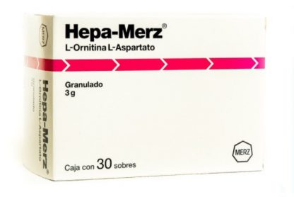 HEPA MERZ GRAN SOB 3G C/30