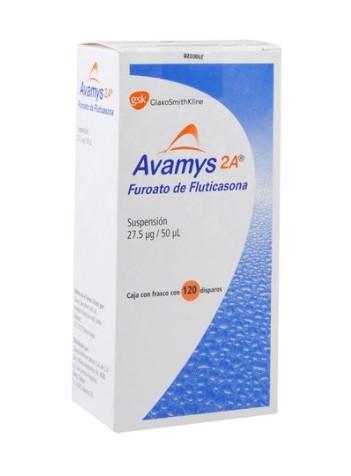 AVAMYS 2A 27.5UG/50UL SUSP 120 DOSIS