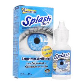 SPLASH TEARS LUB SOL. 15ML OFT