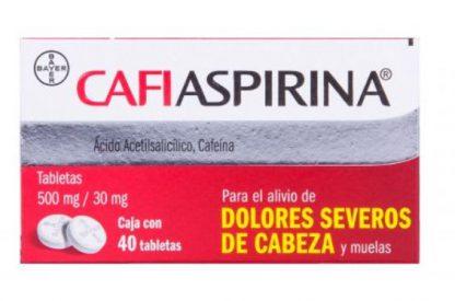 CAFIASPIRINA TAB C/40