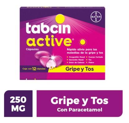 TABCIN ACTIVE CAP C/12