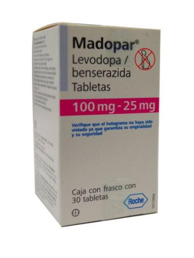 MADOPAR 100/25MG CPR C/30