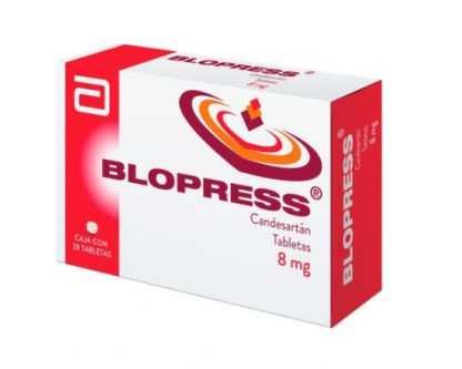 BLOPRESS 8MG TAB C/28
