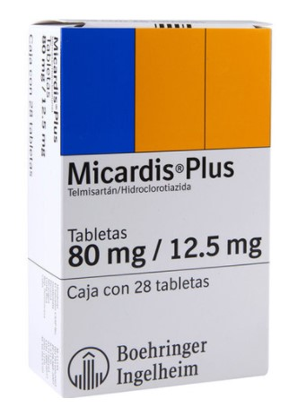 MICARDIS PLUS 80MG/12.5MG TAB C/28