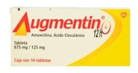 AUGMENTIN 12H 875MG TAB C/14