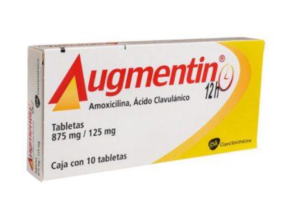 AUGMENTIN 12H 875MG TAB C/10