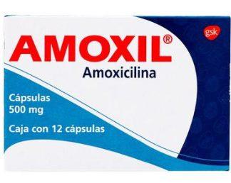AMOXIL 500MG CAP C/12
