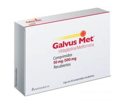 GALVUS MET 50/500MG C/30 COMP