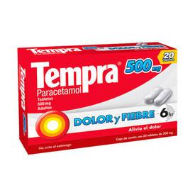 TEMPRA 500MG TAB C/20