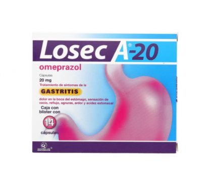 LOSEC A-20 20MG CAP C/14