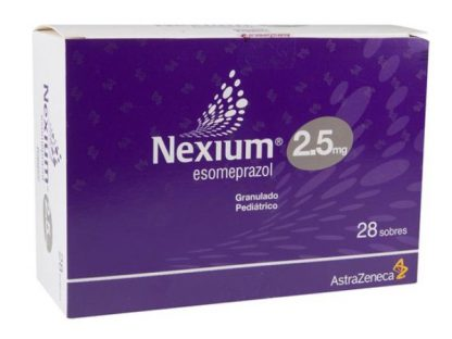 NEXIUM GDO 2.5 SOB C/28 PEDIATRICO