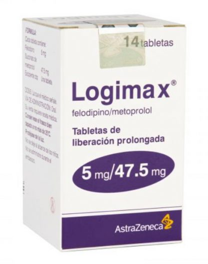 LOGIMAX 5 47.5MG TAB C/14