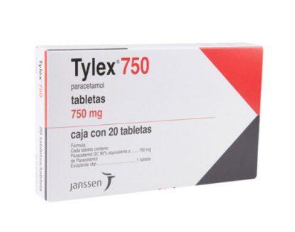 TYLEX 750MG TAB C/20