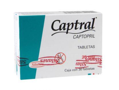 CAPTRAL 25MG TAB C/30