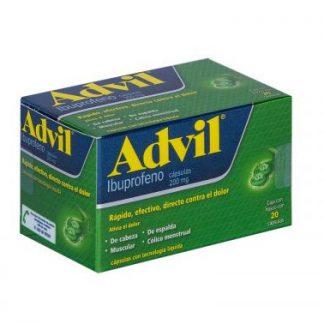 ADVIL FASTGEL 200MG C/20 CAP