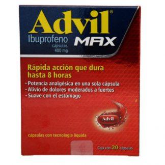 ADVIL MAX 400 MG C20 CAPS