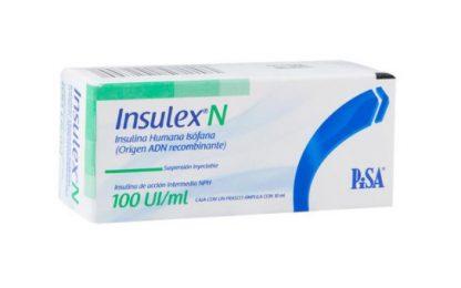 INSULEX N 100 UI AMP 10ML*