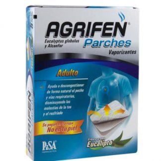 AGRIFEN ADULTO 187.5/62.5 MG PARCHES C/5