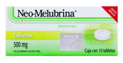 NEO-MELUBRINA 500MG TAB C/10